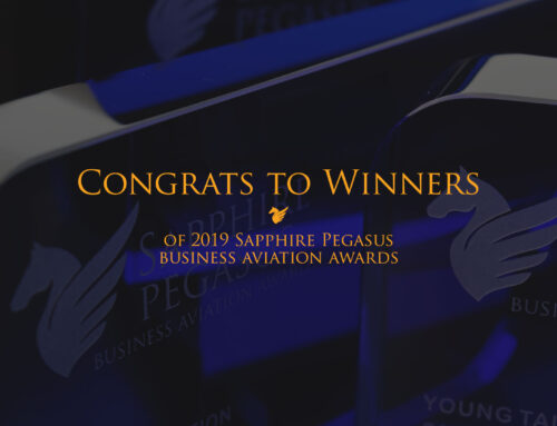 Sapphire Pegasus Awards honoring the elite of business aviation